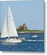 Summer Sail Metal Print