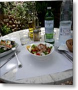 Summer Salad Metal Print