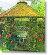 Summer Shelter Metal Print