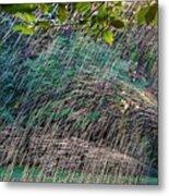 Summer Sprinkler Metal Print
