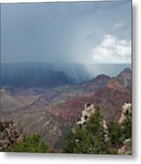 Summer Storm North Rim Grand Canyon National Park Arizona Metal Print