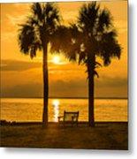 Summer Sunrise - Charleston Sc Metal Print