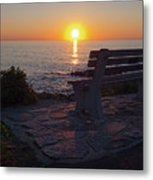 Summer Sunrise, Marginal Way, Ogunquit, Maine  -67904 Metal Print