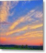 Retzer Nature Center - Summer Sunset #2  Metal Print