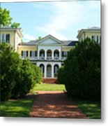 Summer Time At Sweet Briar House Metal Print