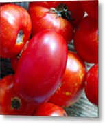 Summer Tomatoes Metal Print