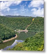 Summer View At Lovers Leap Metal Print