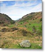 Summer, Watendlath Valley, Lake District National Park, Cumbria Metal Print