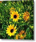 Summer Wildflower Dreams Metal Print