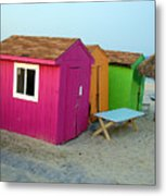 Summertime At The Jersey Shore Metal Print