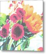 Summertime Blooms Metal Print