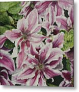 Summertime Finery Metal Print