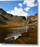 Summit Lake Colorado Metal Print