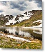 Summit Lake Study 3 Metal Print