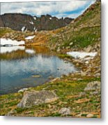 Summit Lake Study 5 Metal Print