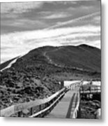 Summit Of Whistlers Mountain Metal Print