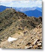 Summit On Mount Massive Summit Metal Print