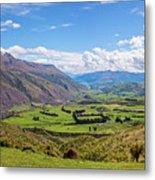 Summit View New Zealand II Metal Print