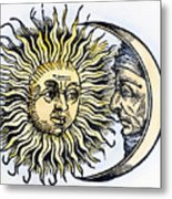 Sun And Moon, 1493 Metal Print