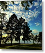 Sun And Shadow By Earl's Photography Metal Print