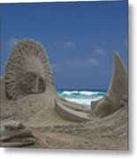 Sun And The Moon In Paradise Metal Print