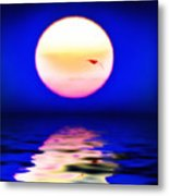 Sun And Water Metal Print