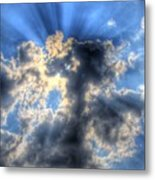 Sun Beams-2 Metal Print