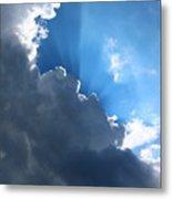 Sun Behind The Clouds 7 Metal Print