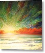 Sun Bliss Metal Print