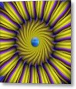 Sun Flower Metal Print by Bobby Hammerstone