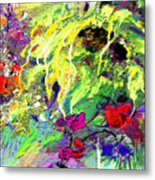 Sun Flower Bouquet Metal Print