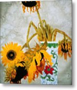 Sun Flowers No.1  Metal Print