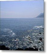 Sun Glints Off Te Ocean Near Cape Metal Print
