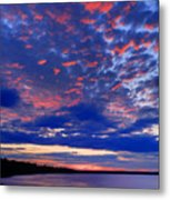 Sun Has Set Metal Print