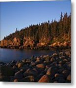 Sun Kissed Acadia Metal Print