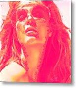 Sun Kissed Pearlesqued Metal Print