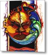 Sun Moon Metal Print by Anthony Burks Sr