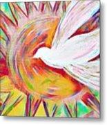Healing Wings Metal Print