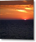 Sun On The Gulf Metal Print