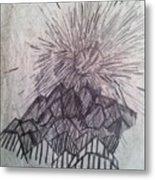 Sun Over The Smoky Mountains Metal Print