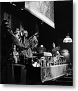 Sun Ra Arkestra At The Red Garter 1970 Nyc 10 Metal Print