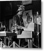 Sun Ra Arkestra At The Red Garter 1970 Nyc 38 Metal Print