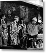 Sun Ra Arkestra At The Red Garter 1970 Nyc 4 Metal Print
