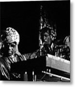 Sun Ra Arkestra At The Red Garter 1970 Nyc 7 Metal Print