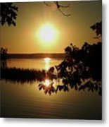 Sun Rise, Hamlin Lake Photograph Metal Print