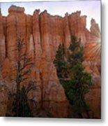 Sun Rising In Bryce Canyon Metal Print