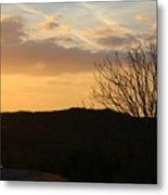 Sun Set Texas Metal Print