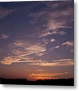 Sun Sets For The Day Metal Print