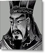 Sun Tzu Metal Print by War Is Hell Store