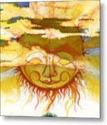 Sun1 Metal Print